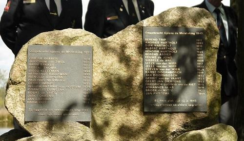 Herdenking 3 mei Appelbergen