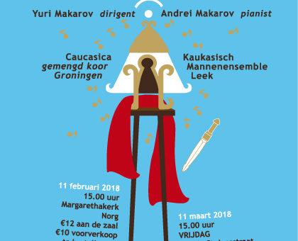 Kaukasische klanken 11 feb en 11 maart