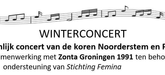 Winterconcert koren Noorderstem en Pavane