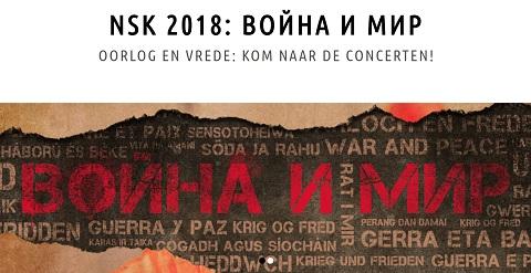 """NSK met """"Oorlog en Vrede"""""""