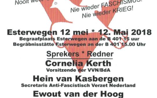 4 Mei-Projekt zingt 12 mei in Esterwegen