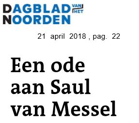 Ode aan Saul van Messel