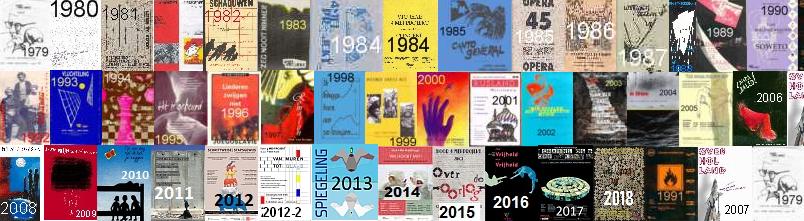 Programmaboekjes 1979-2017