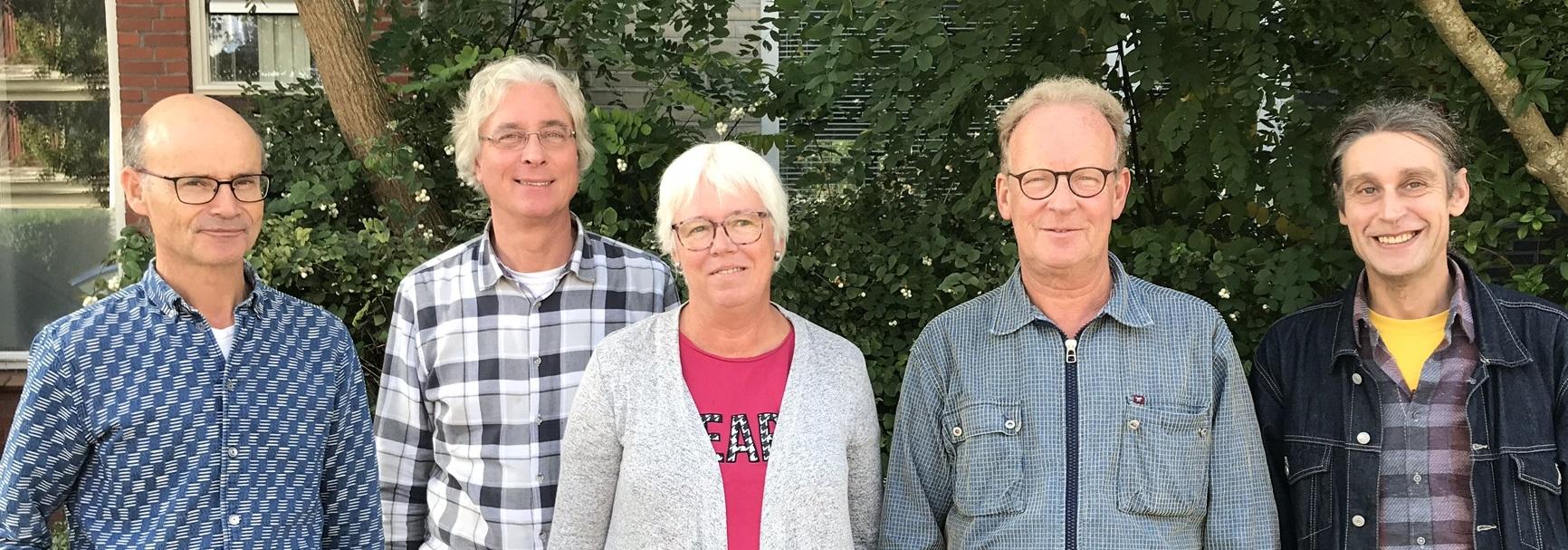 foto bestuur (5 oktober 2019 - Matthijs Berghuis)